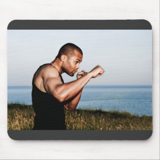flowing fists mouse pad