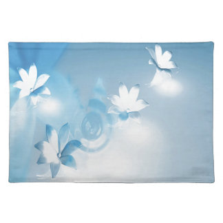 FLOWING FLORAL CLOTH PLACEMAT