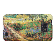 flowing garden with path, van Gogh Galaxy SII Covers