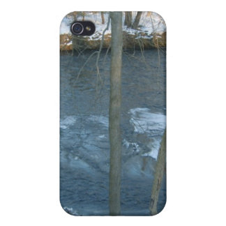 Flowing Icy River iPhone 4 Cover