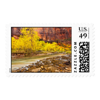 Flowing Into Autumn Postage