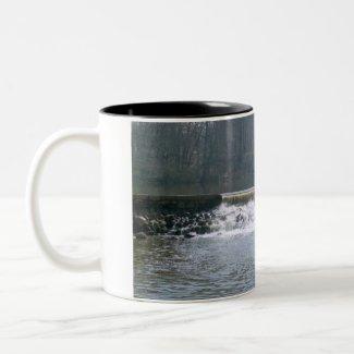 Flowing Over Coffee Mug mug
