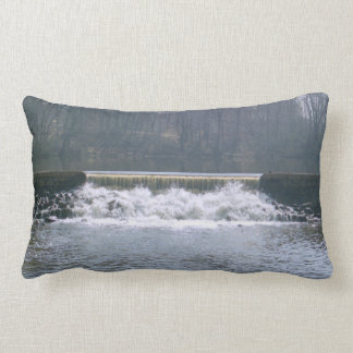 Flowing Over Grade A Cotton Throw Pillow Lumbar