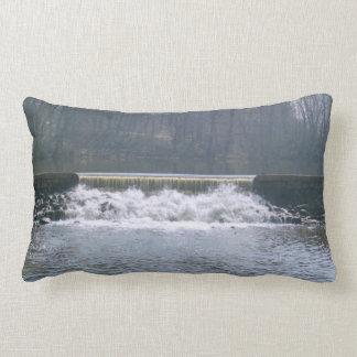 "Flowing Over Polyester Lumbar Pillow 13"" x 21"""