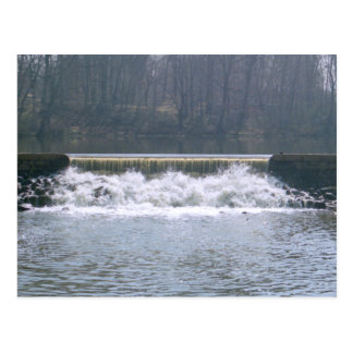 Flowing Over Postcard