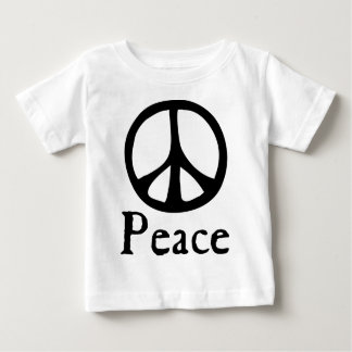Flowing Peace Sign Baby T-Shirt