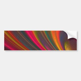 Flowing Rainbow Bumper Sticker