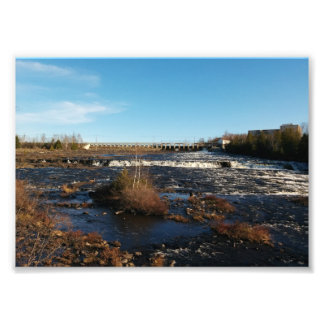 Flowing River Photo Print