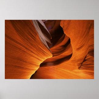 Flowing Rock Poster