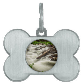Flowing Rocky Mountain Stream Pet ID Tag
