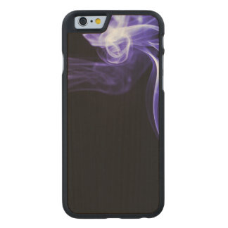 Flowing Smoke Carved® Maple iPhone 6 Slim Case