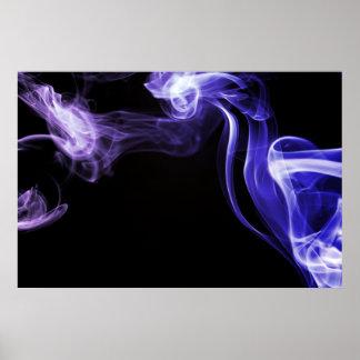 Flowing Smoke Poster