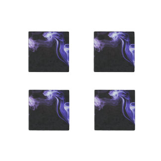 Flowing Smoke Stone Magnet