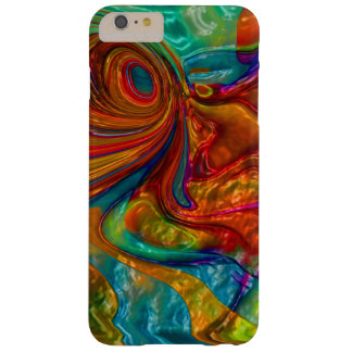 flowing swirling elegant abstract satin eye barely there iPhone 6 plus case