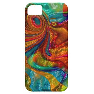 flowing swirling elegant abstract satin eye iPhone 5 case