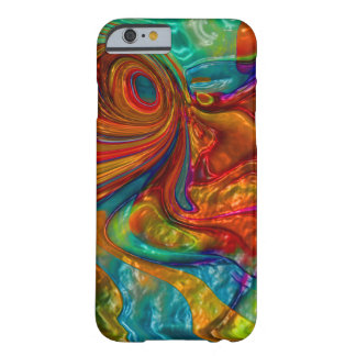flowing swirling elegant abstract satin eye barely there iPhone 6 case