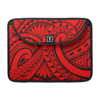flowing swirly tribal tattoo design sleeves for MacBook pro