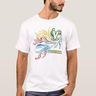 Flowing Vegetarian Colors T-Shirt