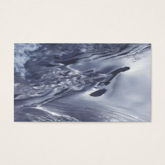 flowing water business card