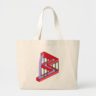 Flowing Water Optical Illusion Tote Bags