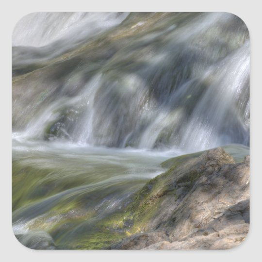Flowing Waters Square Sticker