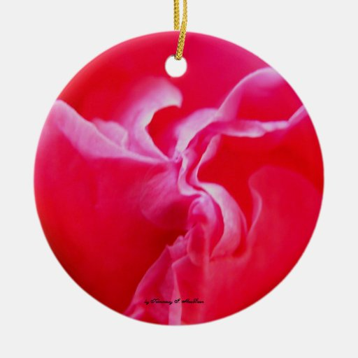 Flowingly Pink Ornament, by Kimmary I. MacLean