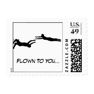 Flown to You Stamps