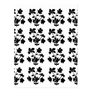 Flowral Motifes design Postcard