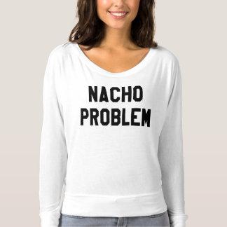 Flowy de las mujeres del problema del Nacho de la Playera