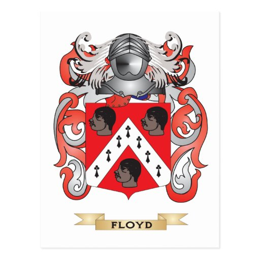Floyd Coat of Arms Post Cards