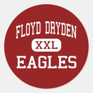 Floyd Dryden - Eagles - Middle - Juneau Alaska Classic Round Sticker