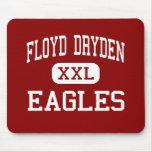 Floyd Dryden - Eagles - Middle - Juneau Alaska Mouse Pads