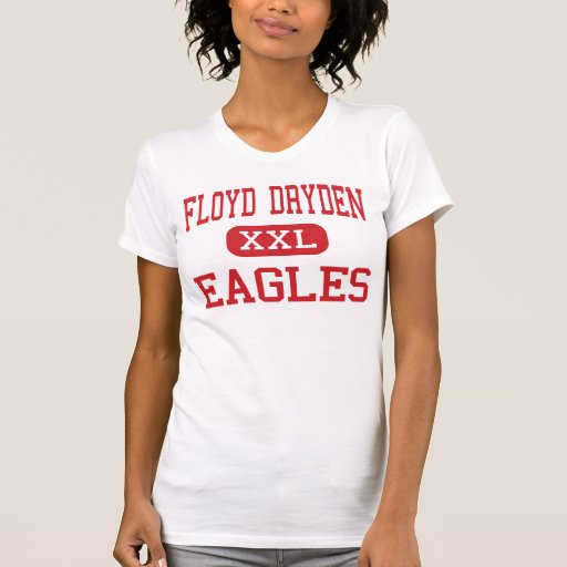 Floyd Dryden - Eagles - Middle - Juneau Alaska T Shirts