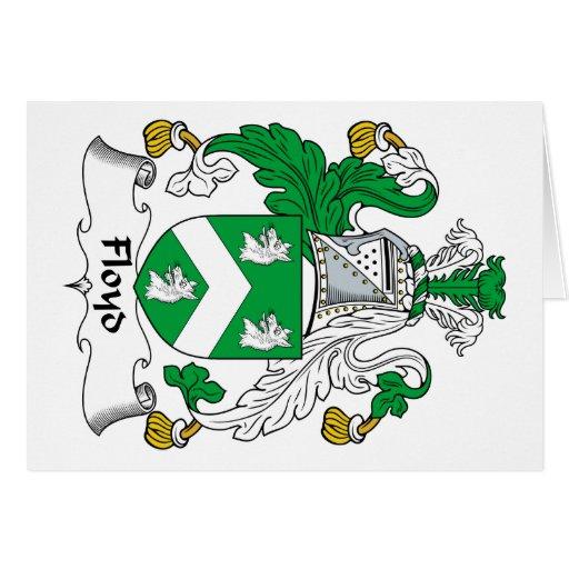 Floyd Family Crest Cards