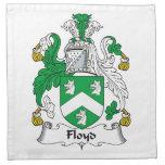Floyd Family Crest Napkins
