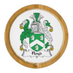 Floyd Family Crest Round Cheese Board
