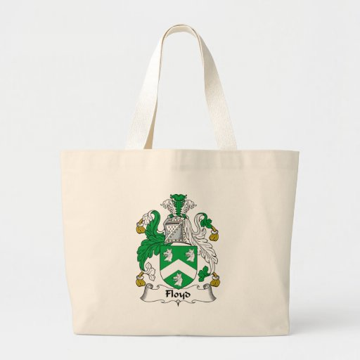 Floyd Family Crest Tote Bags
