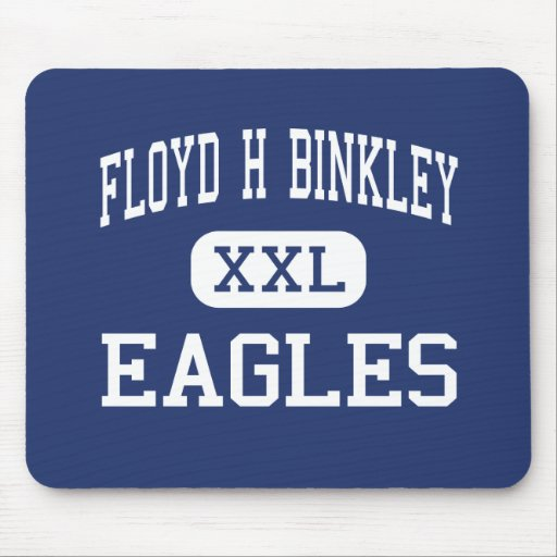 Floyd H Binkley Eagles Middle Hennessey Mouse Pad