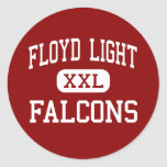 Floyd Light - Falcons - Middle - Portland Oregon Stickers