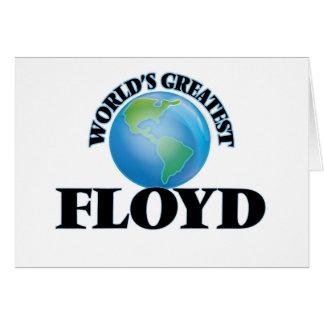 Floyd más grande del mundo felicitaciones