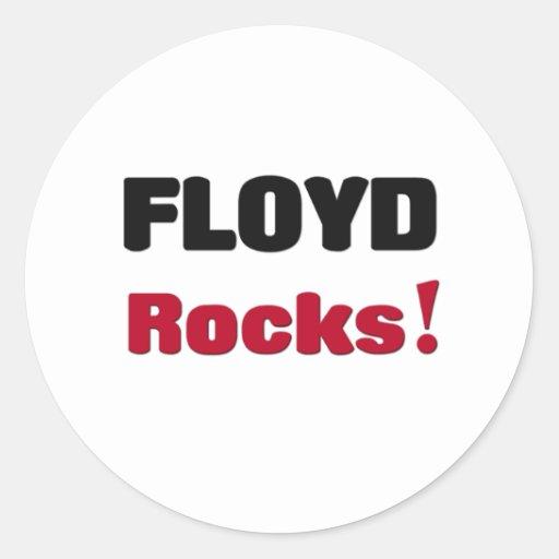 Floyd Rocks Round Sticker