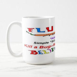 Flu 2013 Epidemic Classic White Coffee Mug