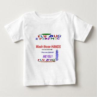Flu Art by pabear48 Infant T-shirt