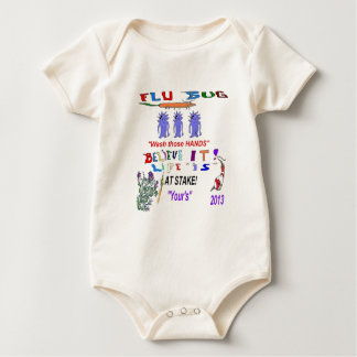 FLU BUG 2013 BABY BODYSUIT