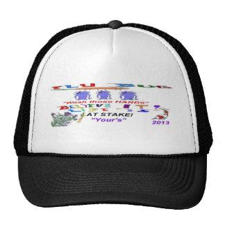 Flu Bug at Stake Trucker Hat