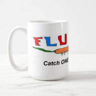 Flu Bug Catch One Coffee Mugs