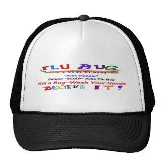 Flu Bug Epidemic Trucker Hats