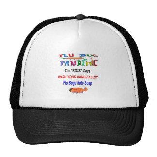 Flu Bug Hates Soap Mesh Hat