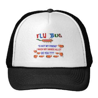 FLU Bug No Friend Trucker Hats