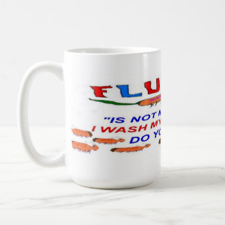 Flu Bug NO FRIEND Coffee Mug